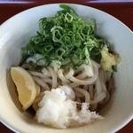 穂の川製麺 - ぶっかけうどん冷並320円