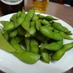 とんかつ 代々木庵 - 枝豆