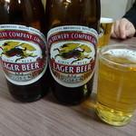 とんかつ 代々木庵 - ビール