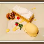 CAFE bon! - レモンクリームサンドのケーキ