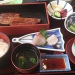 日本料理 田や - ウナギの蒲焼御前