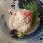 日本料理 田や - 湯葉刺し