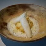 NARISAWA - ハモ 秋の白い根菜