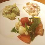 マーケットレストランAGIO - 前菜3種
