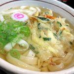 都きしめん - 野菜天きしめん520円