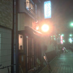 ワイン食堂 Sole - 少し路地入った所ですが、すぐにわかります。