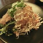 こうりん坊 - 自家製ハムのシャキシャキ大根サラダ