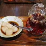 三徳堂 - 菊花茶+もち生姜黒蜜