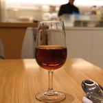 南国酒家 - 紹興酒 紅琥珀 をグラスで (2014/12)