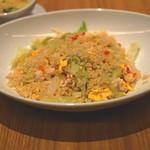 南国酒家 - 蟹とレタスの炒飯 (2014/12)