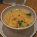 南国酒家 - 中華玉子スープ (2014/12)
