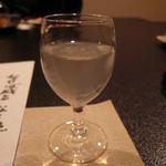 森の湯 - 座付:ハーブ酢 ジンジャー&レモン(ノンアルコール)