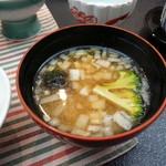 森の湯 - 味噌汁