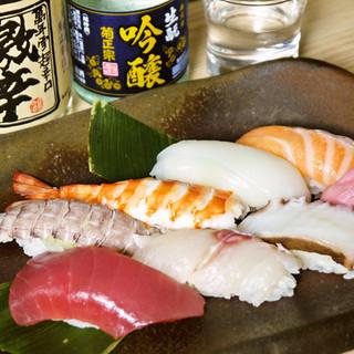 【こだわり】市場直送!新鮮な魚介をそのままどうぞ。