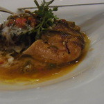 オトワ レストラン - 2014.12)フォアグラのポワレの香りの良さといったらありません