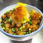 ZUND-BAR - 炙りコロチャーシュー飯