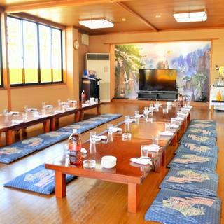 ◆ご宴会時は最大80名様までOK!
