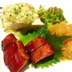 Chuugokuryouriryuuhou - 前菜3種盛り