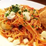 イル・バロッコ - モッツァレラチーズと揚げ茄子のトマトソース