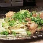 33650608 - 名物ホルモン味噌炒め定食