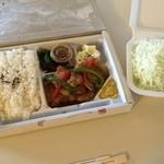 TONKATSU GINZA BAIRIN - しょうが焼き弁当(税抜$16)