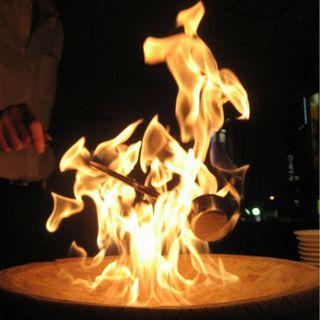 パルミジャーノたっぷり☆炎のチーズリゾット