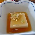 榧の木 - ゴマ豆腐にそばのみ
