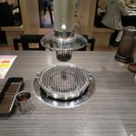 醍醐 - テーブルの様子