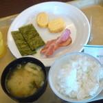 ホテルルートイン - 料理写真:朝食バイキング