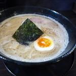 麺屋 暁 - えびだしとんこつラーメン