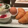 Motomachikohi - 料理写真:H26.12月 モーニングメニューのクロワッサンバージョン♡