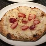 ケラケラ ヴィータ - 季節のフルーツとマスカルポーネのデザートピッツァ1,280円