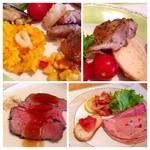 レストラン セリーナ - Xmasカラーのお料理♪