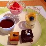 レストラン セリーナ - キラキラ可愛い♪デザート