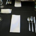 ル・バンブー - テーブルセッティング