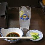 焼肉 かどや - 料理写真:レモンチューハイ