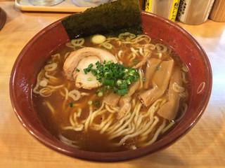 麺場 七人の侍 - 池袋 麺場 七人の侍 中華そば @700