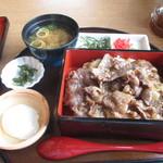 33665190 - 淡路島牛丼セット