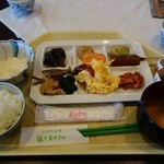 33667002 - 豆腐屋さんのバイキング(朝食)