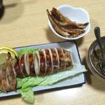 紀八 - イカ焼き500円。めちゃくちゃ柔らかくて美味しい。