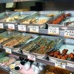 がんば亭 - 天ぷらコーナー