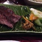 糀や仁太郎 - 牛タンの塩焼き 美味いよ