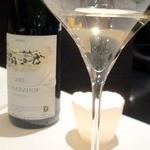 33671935 - 「地球」をイメージしたサラダに合わせたドイツリースニングワイン
