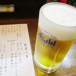山口大亭  - 生ビールはアサヒ【2014.11月】
