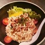 ソラノイロ Japanese soup noodle free style - ソラノメシ(350円)