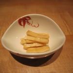 33673660 - 「白菜茎酢醤油漬け」