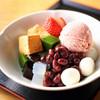 茶房いせはん - 料理写真:春季限定 あまおう苺あんみつ