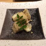 あらた - 京都産揚げエビ芋の白和え