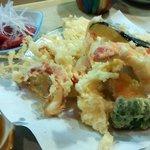 ふるかわ - 天ぷら定食(2014.12)