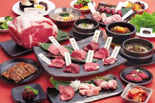 焼肉ヌルボン 大名Kitchen - 食べ放題コース